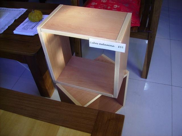 Cubos de melamina!!! Impresionantes, armá tu biblioteca, tu guardarropa, tu mesa de luz, lo que quieras, de una forma cómoda y económica!!