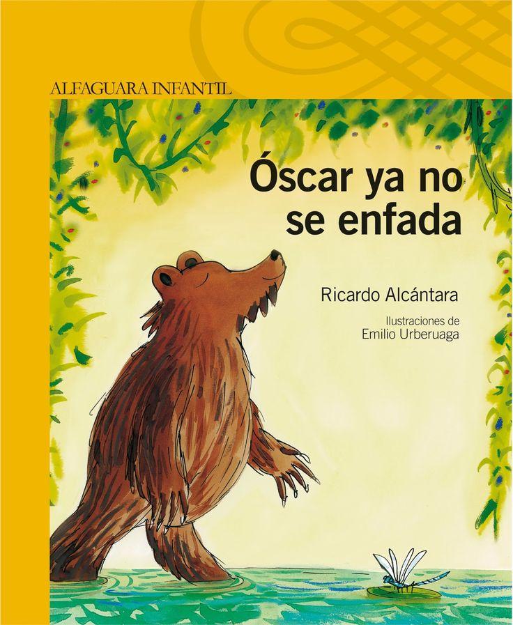 """Libro infantil """"Óscar ya no se enfada"""", cuento enfados , educación emocional"""