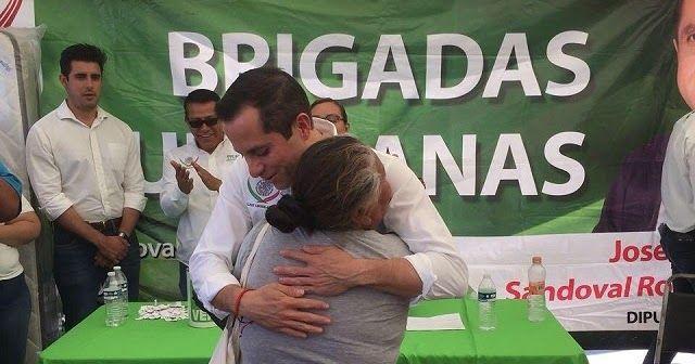 """El Dip. Federal José Refugio Sandoval Rodríguez desde el inicio de su gestión como Diputado Federal ha estado realizando """"Brigadas Ve..."""