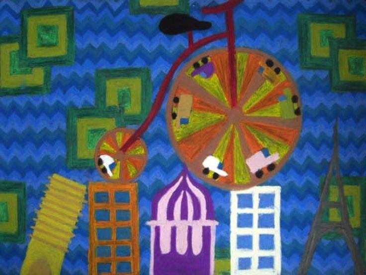 """Viajando en bicicleta"" Autor: Vanessa López"