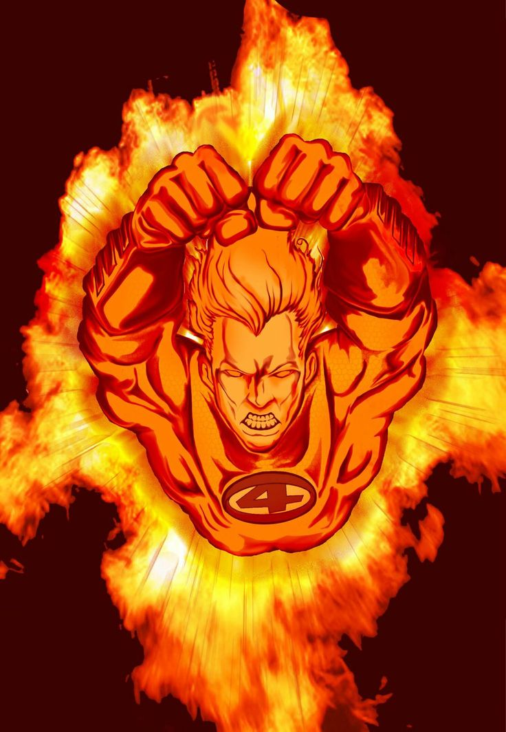 Human Torch Johnny Storm