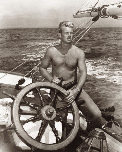 "Sterling Hayden - Actor - Nature man - Writer - wrote ""Wanderer""  (what pure inspiration he was)"