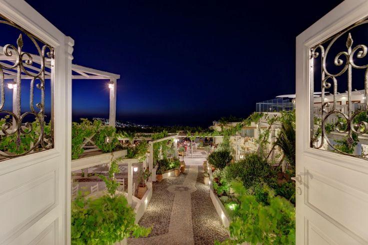 The Halls at Pyrgos Restaurant, Santorini