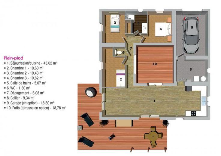 Plan Maison Bois Mercure