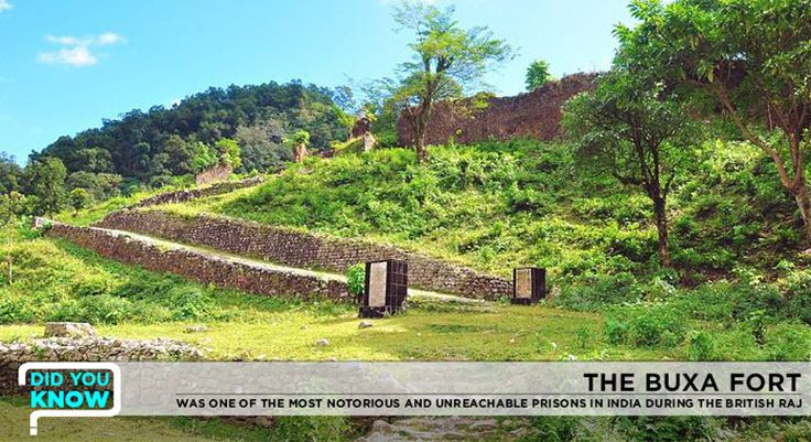 The Buxa Fort, located within the Buxa Tiger Reserve, was the most notorious and unreachable prison in India after the Cellular Jail in Andaman during the British Raj. #buxafort #history #SinclairsRetreatDooars  Image courtesy - Google