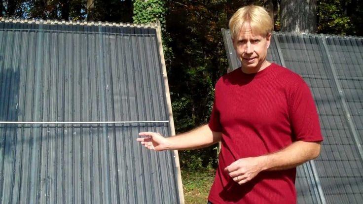 Super Simple, CPVC Solar Hot Water Collector  - from Scott Davis - https://www.youtube.com/watch?v=WP8H5IOTwYU