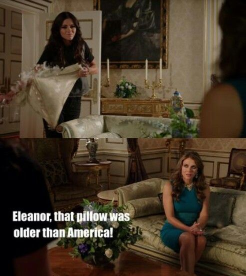 """#TheRoyals 1x09 """"In My Heart There Was a Kind of Fighting"""" - Eleanor and Helena"""