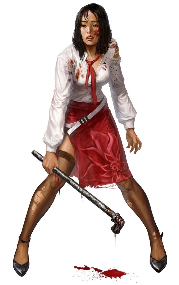 Dead Island - Xian Mei she is my favorite character