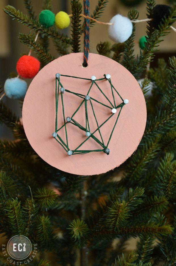 Modern Christmas Ornament