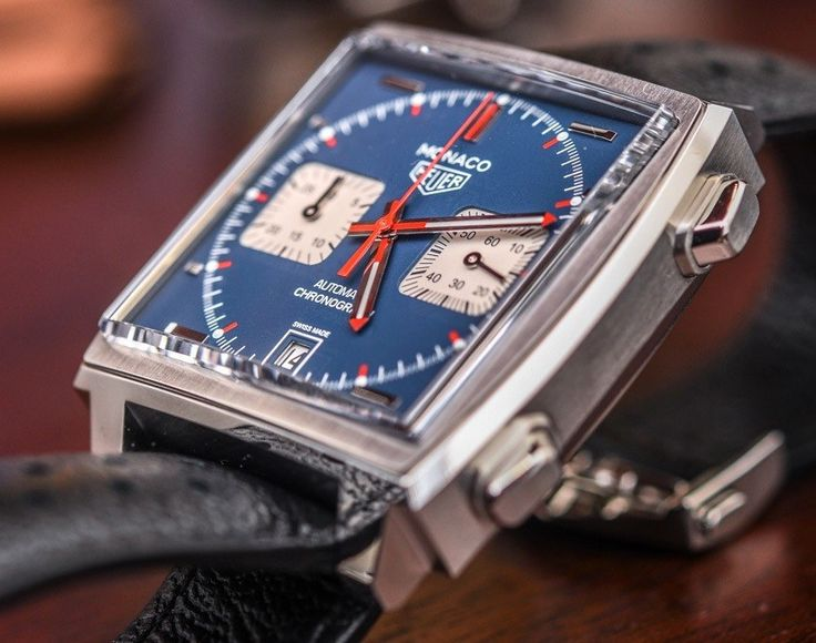 "TAG Heuer Monaco Calibre 11 'McQueen' Watch Hands-On: A Worthy Re-Edition - by David Bredan - on aBlogtoWatch.com ""Since its debut in 1969 with the (then non-TAG) Heuer Monaco 1133B, the Monaco has enjoyed countless iterations from re-editions and tribute pieces, all the way to belt-driven, tourbillon-equipped high-tech versions like the V4. What we are looking at today is the TAG Heuer Monaco Calibre 11 'McQueen' Reference CAW211P, which is interesting for a number of reasons..."""