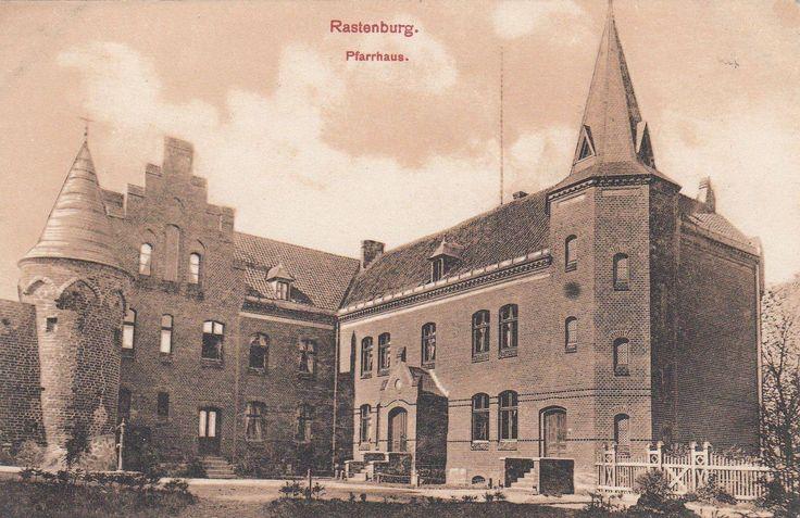 Rastenburg. Pfarrhaus. 1914.