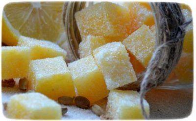 сахарный скраб для тела своими руками