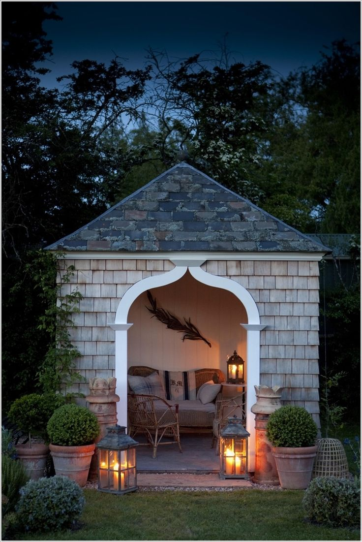 could use our shed/house for something like this