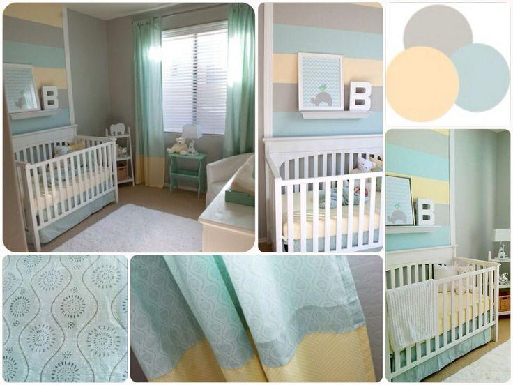 Cuarto de bebe neutral - Neutral Nursery