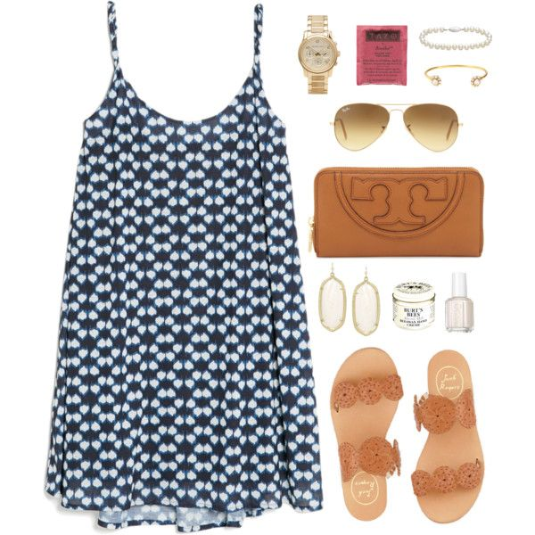 sundress, created by classically-preppy on Polyvore