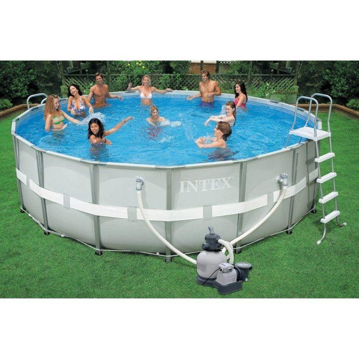 Die besten 25+ Pool über den Boden Leitern Ideen auf Pinterest - pool garten aufblasbar