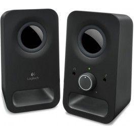 Les enceintes PC Z150 de Logitech offrent un son stéréo clair et puissant (puissance totale de crête de 6 watts).Prêts à l'emploi, ces haut-parleurs disposent d'une prise casque et d'une entrée auxiliaire 3,5 mm pour les connecter à un PC, un ordinateur portable, un lecteur MP3, une tablette ou un smartphone.