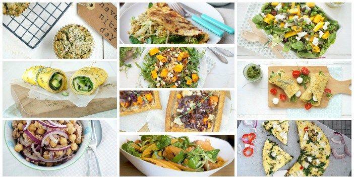 Kun je wel wat inspiratie gebruiken voor lunchen zonder brood? Ik zet mijn favoriete broodloze lunches op een rij, er zit echt heel veel lekkers bij!