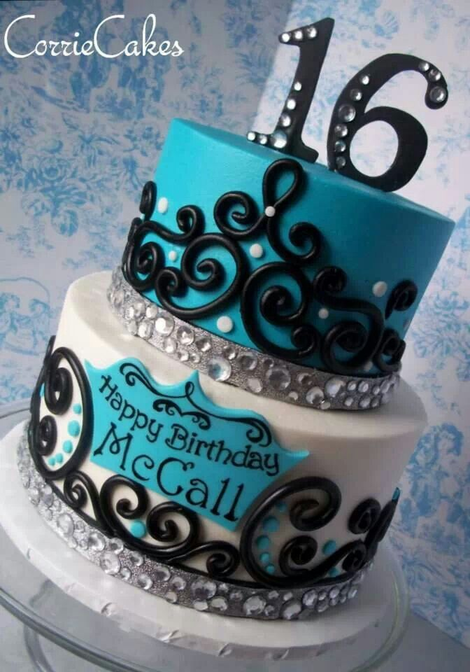 63 best Birthday Cakes images on Pinterest Anniversary cakes