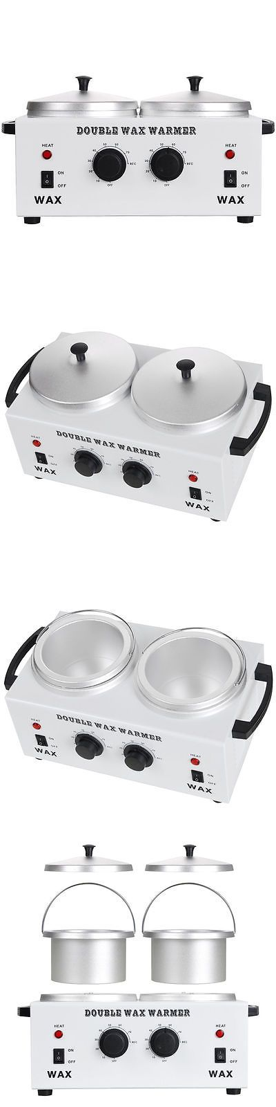 Waxing Supplies: Double Pot Electric Wax Warmer Heater Facial Skin Spa Hair Removal Grooming -> BUY IT NOW ONLY: $44.28 on eBay!
