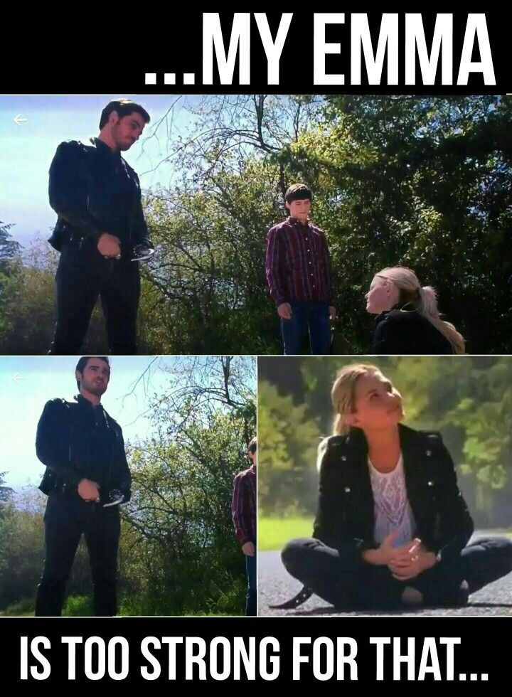"""My Emma is too strong for that"" -Hook- 5x03 ""The Other Shoe"" #onceuponatime #season6 #ouat #once"