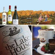 """The Lake House, Denmark   The Lake House Denmark  """"Best of the West. Most promising winery in WA""""~ Ray Jordan's Guide to Wine 2010  Open daily from 11am to 5pm and located just five minutes from town, The Lake House Denmark is the perfect place to visit and unwind. Enjoy complimentary tasting of our award winning wines, casual dining with a vineyard lunch prepared with fresh local and organic produce, or simply have great coffee and delicious homemade cake."""