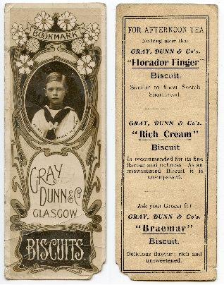 Gray, Dunn and Co Biscuits, Glasgow