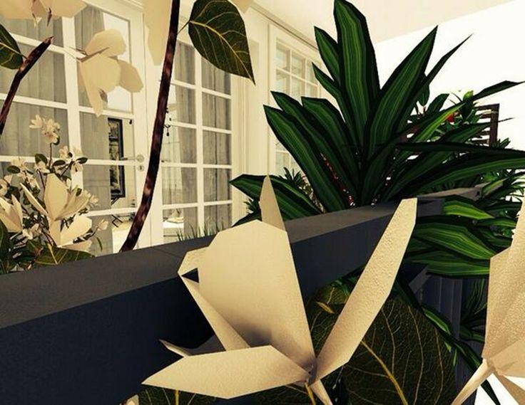 3d floor plans - konstadina nastou decorator-http://kinteriorsblog.wordpress.com/ #floorplans #roomsketcher #balcony #plants