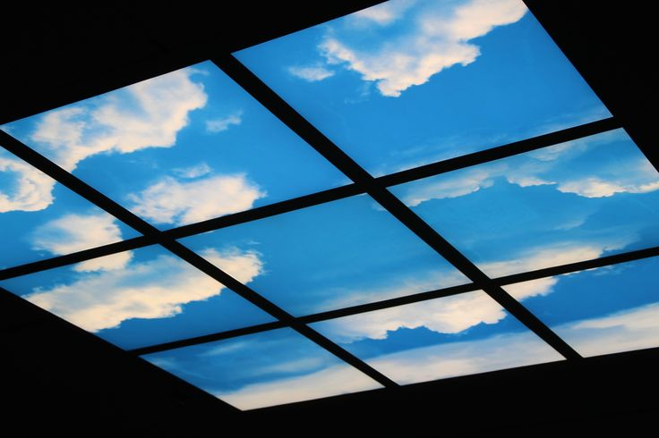 The skylight in the ThinkPOD at the CBD Campus