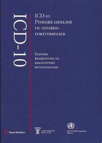 Ark- ICD-10 psykiske lidelser og atferdsforst: kliniske beskrivelser og diagnostiske - 479kr