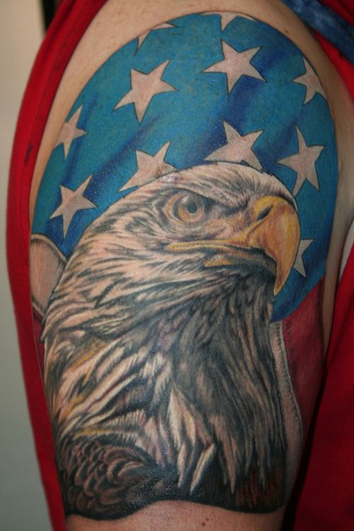 33 best images about tattoos on pinterest sagittarius for Patriotic tribal tattoos