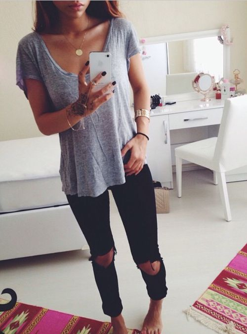 top l jeans