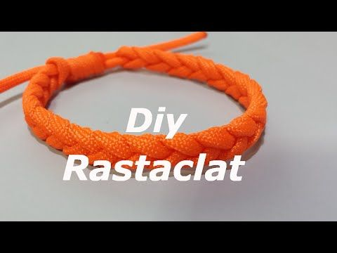 How To Make An Adustable Paracord Rastaclat Friendship Bracelet With Sliding Knot - YouTube