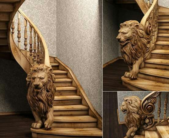 I need these stairs & bannister!