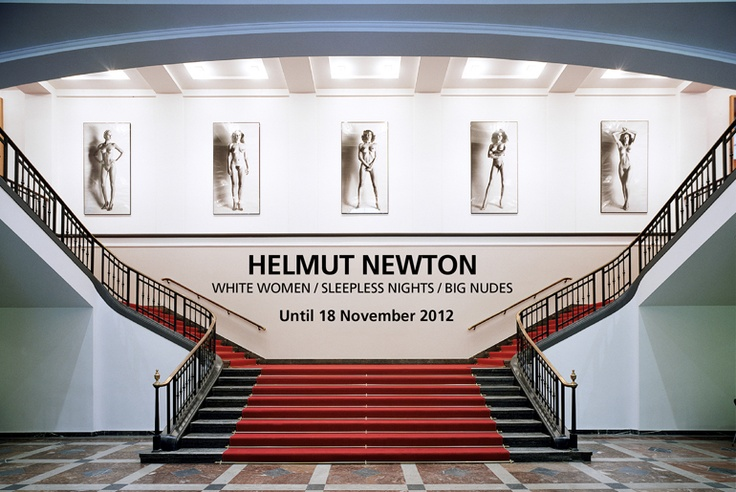 To go to the Helmut Newton Foundation in Berlin