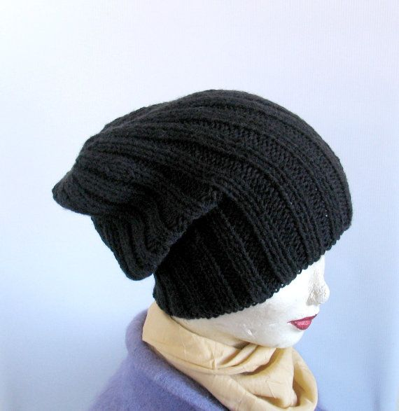 Sacking Winter Hat  Autumn Accessories  Slouchy by recyclingroom, $28.00