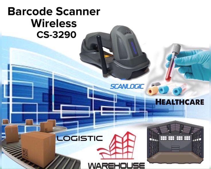 Barcode Scanner Wireless Scanlogic CS 3290 Barcdoe Scanner wireless dengan jangkauan 200 meter lebih, Dibundling dengan  batteray yang bisa bertahan untuk operasional sampai dengan 8 jam ( Shift ). Scanner barcode handheld wireless ini sangat praktis digunakan untuk berbagai apliaksi. Mulai dari Retail & grosir, Pergudangan dan logistic, hingga berbagai aplikasi industri. Call 031-5952929, 021-6010197, 0411-2116999