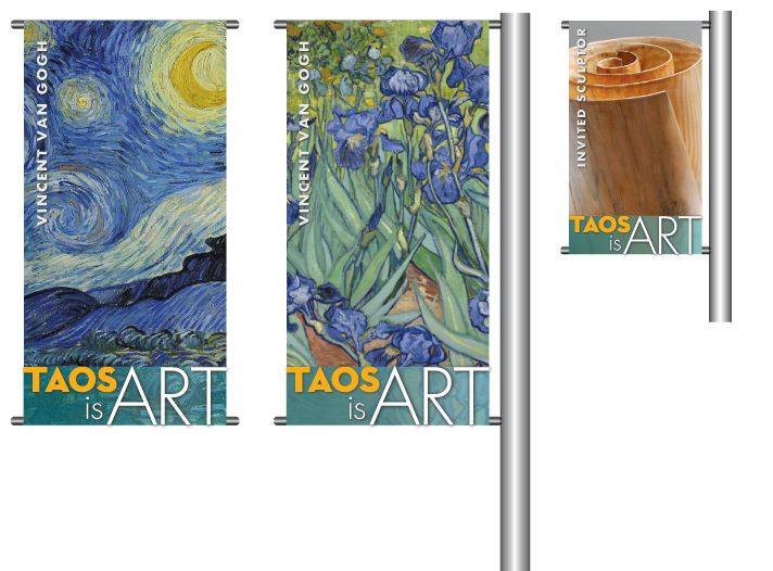 If you are a local artist, the Town of Taos wants you!  In order to highlight Taos as an arts destination, celebrate and support the abundant creativity of our local artists and art scene, give visibility to our array of art, and delineate & beautify the historic district — the Town of Taos is…
