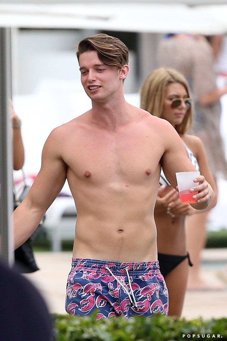 Pin for Later: Age Is Just a Number: Count the Years in Shirtless Guys 20 (Bonus): Patrick Schwarzenegger