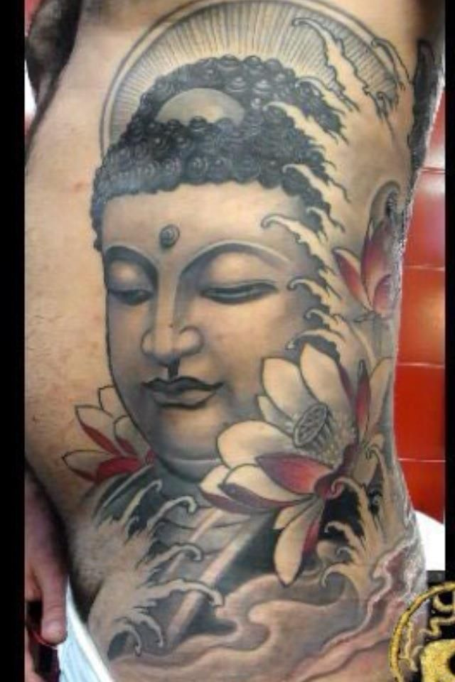 Buddha Tattoo Designs And Meaning Something along these lines.  :)