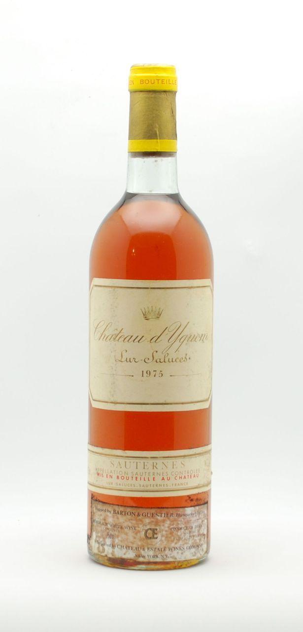 Chateau d'Yquem Sauternes 1975 - Maison du Prix Wines