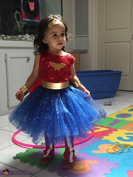 Wonder Woman Toddler Costume - 2016 Halloween Costume Contest via @costume_works