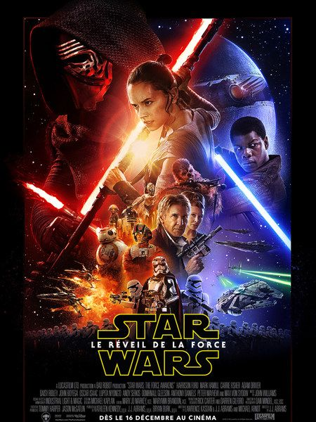 STAR WARS LE REVEIL DE LA FORCE EN 3D