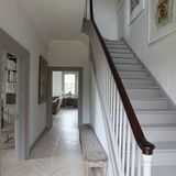 For a long time now, white-painted woodwork has been de rigeur in the domestic interior, so much so that it's almost a foregone conclusion