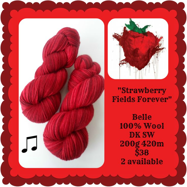Strawberry Fields Forever - Beatlemania | Red Riding Hood Yarns