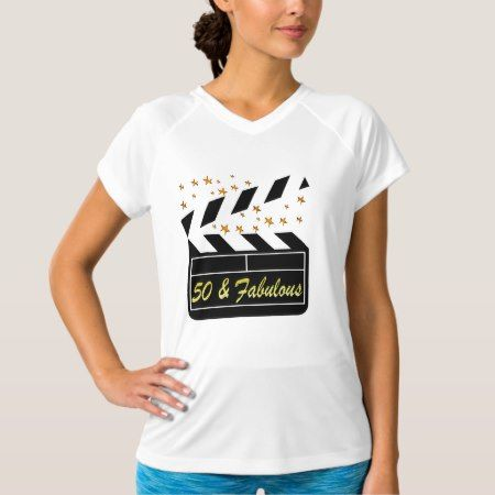 50 YR OLD MOVIE STAR T-Shirt - tap to personalize and get yours