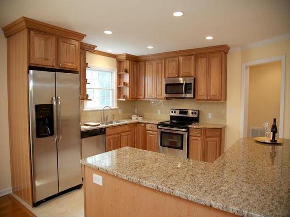 25 cocinas peque as en forma de l decoracion de - Cocinas pequenas en forma de ele ...
