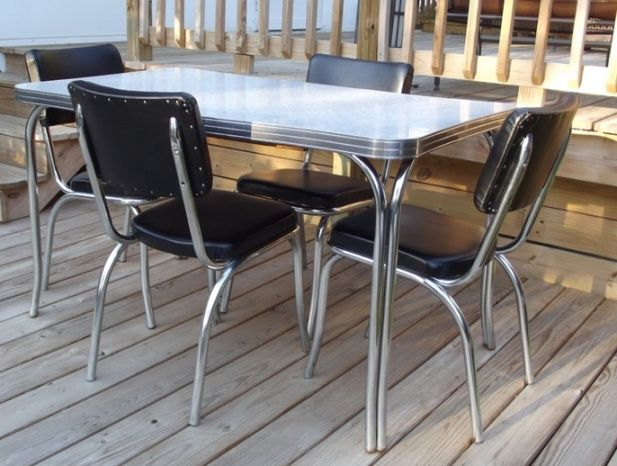 back to the past with retro kitchen table and chairs sets - Kitchen Table And Chair Sets