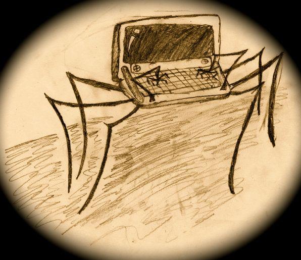 Compuspider! #ByGabrielFargher