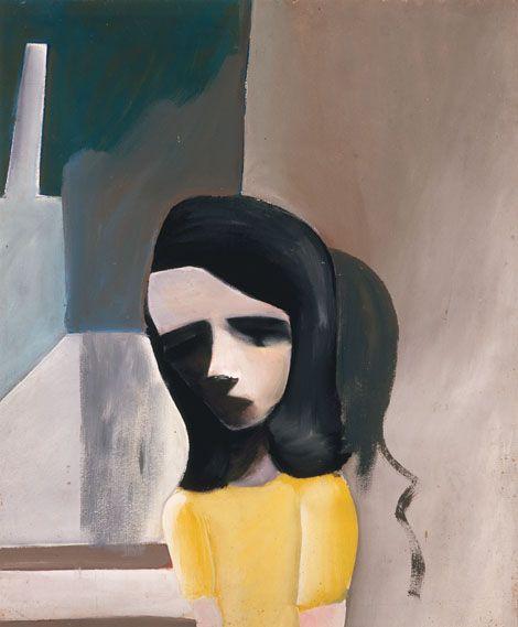 Charles Blackman ~ Barbara, 1960
